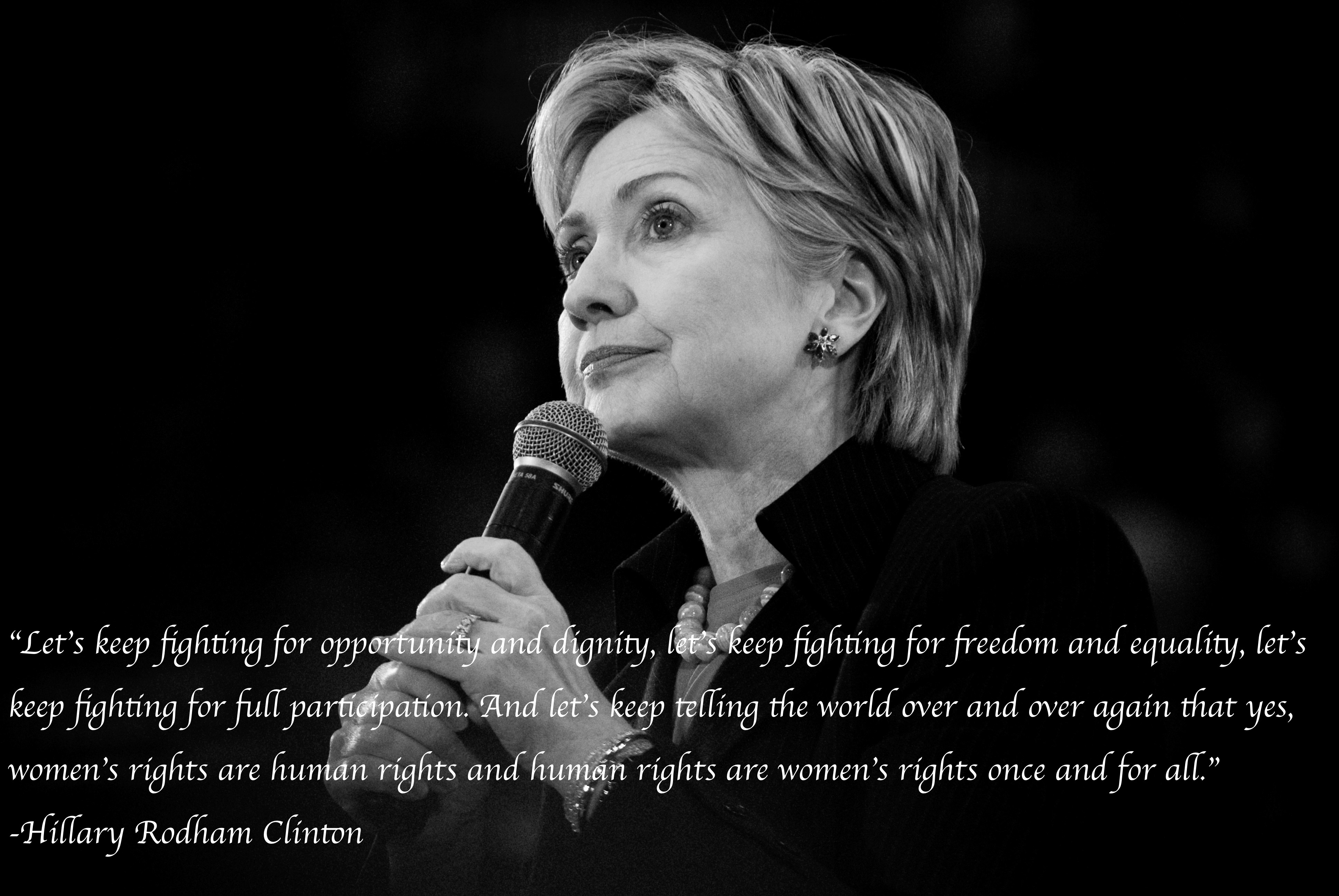 Leaders to an Equal World: Hillary Rodham Clinton