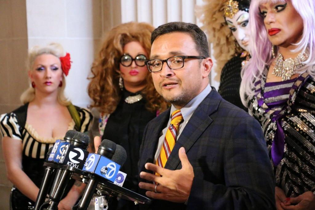 David Campos San Francisco drag queens Facebook