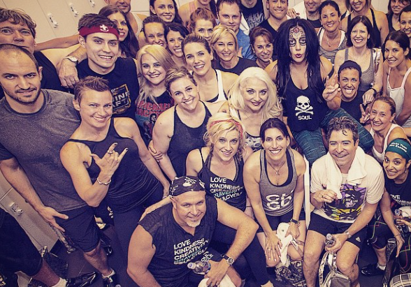 Lady Gaga Bicycles for Charity