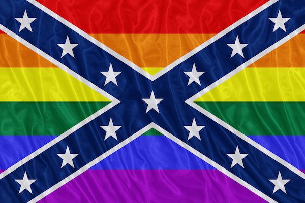 Fox News Commentator Compares Confederate Flag to LGBT Flag