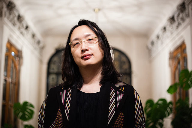 A photo of Audrey Tang, the world's first transgender minister.