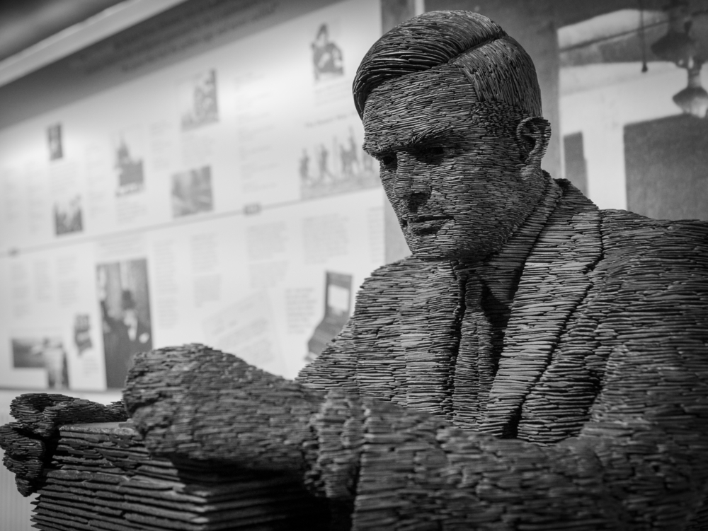 A statue of mathematician Alan Turing