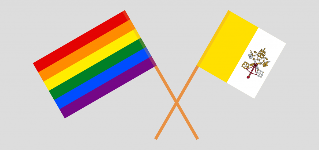 The US embassy at the Vatican will fly the pride flag at the Holy See throughout June