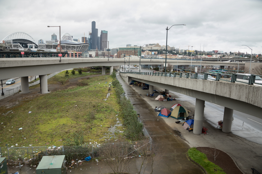 Seattle Homeless Often Prefer Street to Shelters