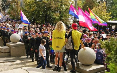 March for Equality in Ukraine Fields 7,000 People